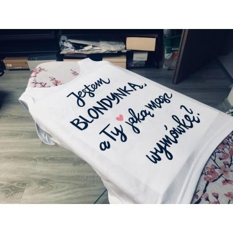 Jestem blondynką, a Ty jaką masz wymówkę   ? + serce róż