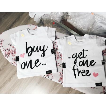ZESTAW koszulek BLIŻNIAKI buy one get one free