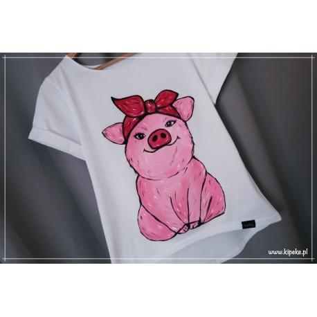 świnka S/M rysunek - krótki rękaw klasyczny 1 sztuka