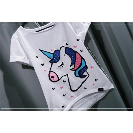S/M jednorożec unicorn 1 sztuka