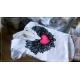 S/M fason: serek - skrzydła + czerwono różowe serce na plecach, przód gładki.