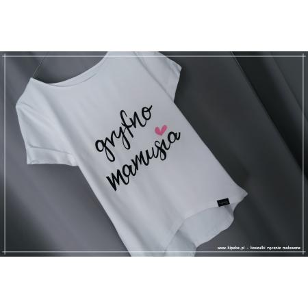 gryfno mamusia - koszulka dla Mamy