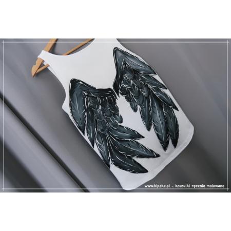 S/M koszulka ze skrzydłami na ramiączkach 1 sztuka