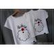 ZESTAW mama + dziecko koszulki świąteczne