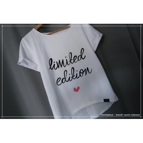 limited edition + serce róż