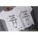 ZESTAW PERSONALIZOWANY renifer 3 koszulki : mama dziecko tata