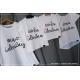 ZESTAW 4 koszulek żona mąż córka idealna RODZINNE