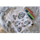 Koszulka do kolorowania |AUTKA + MAZAKI GRATIS