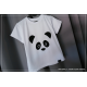 ZESTAW mama i córka/ syn panda koszulki