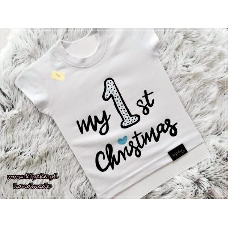 my first christmas chłopak / dziewczynka
